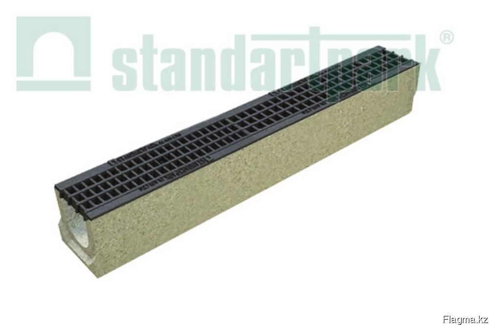 Линейный водоотвод (ливневка) - пластиковые, бетонные лотки
