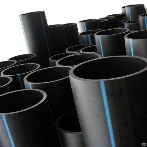 Трубы напорные от 10 до 2200мм полиэтилен полипропилен ПВХ сталь чугун нерж