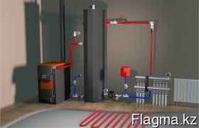 Система отопления в Астане