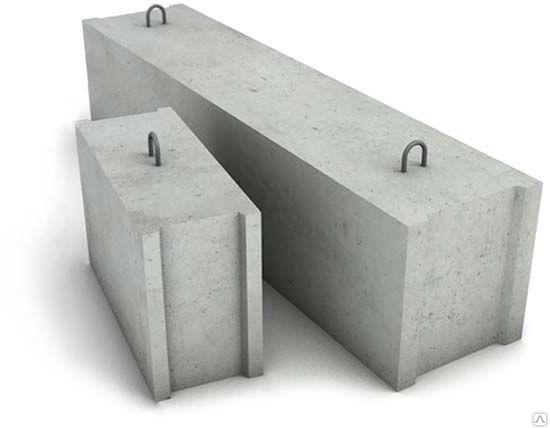 Строительные блоки ФБС