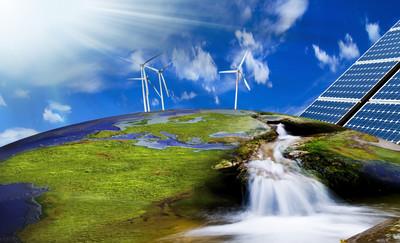 Солнечные и ветровые электростанции